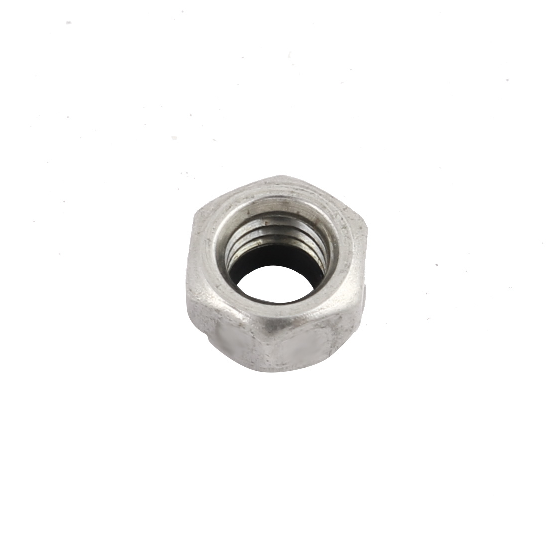 Mechanical Fastener Stainless Steel Self-locking Nylon Insert Lock Hex Nut M5 Thread Dia