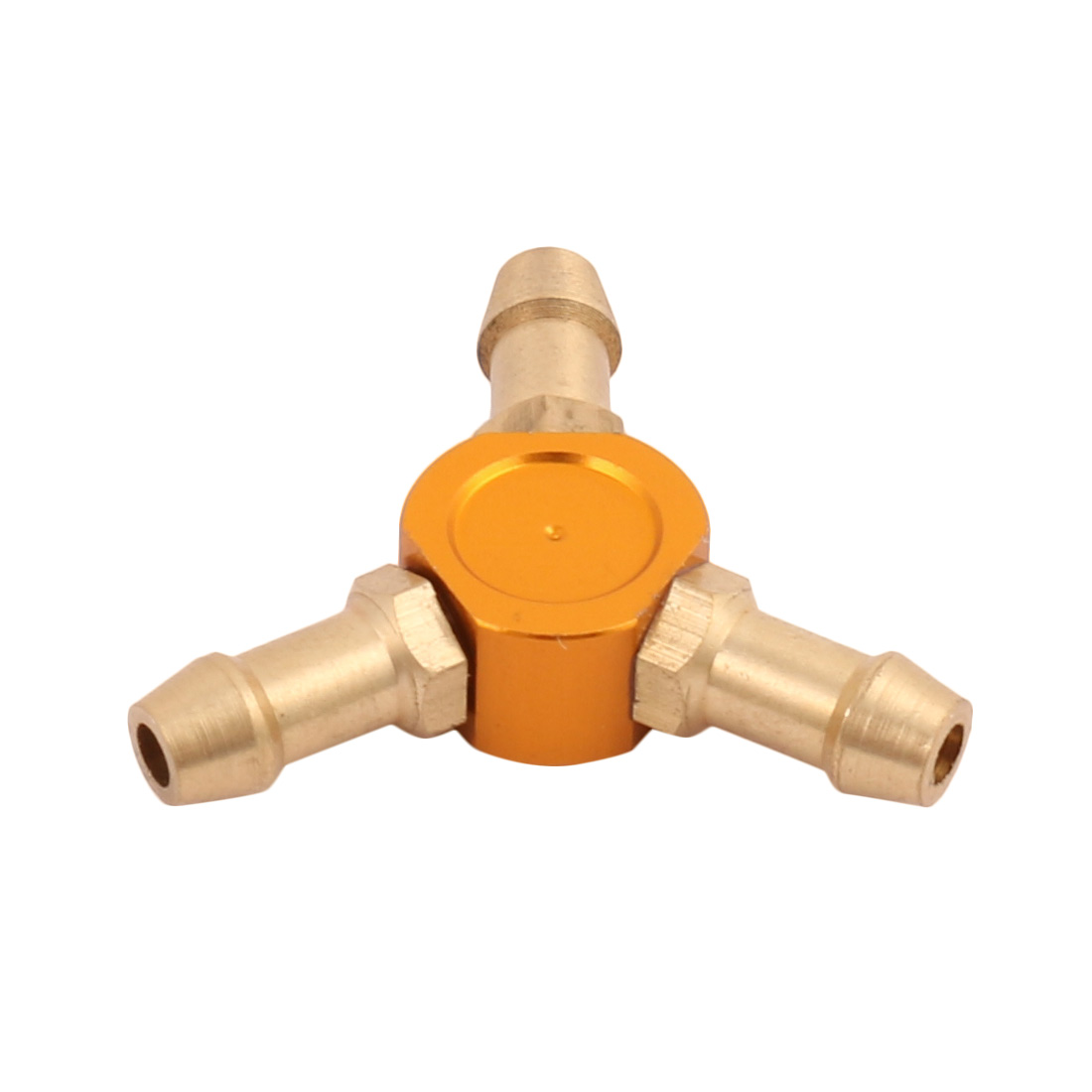 2.2mm x 4.8mm x 23mm Orange Y-Shaped Water Fuel Air Splitter for RC Boat
