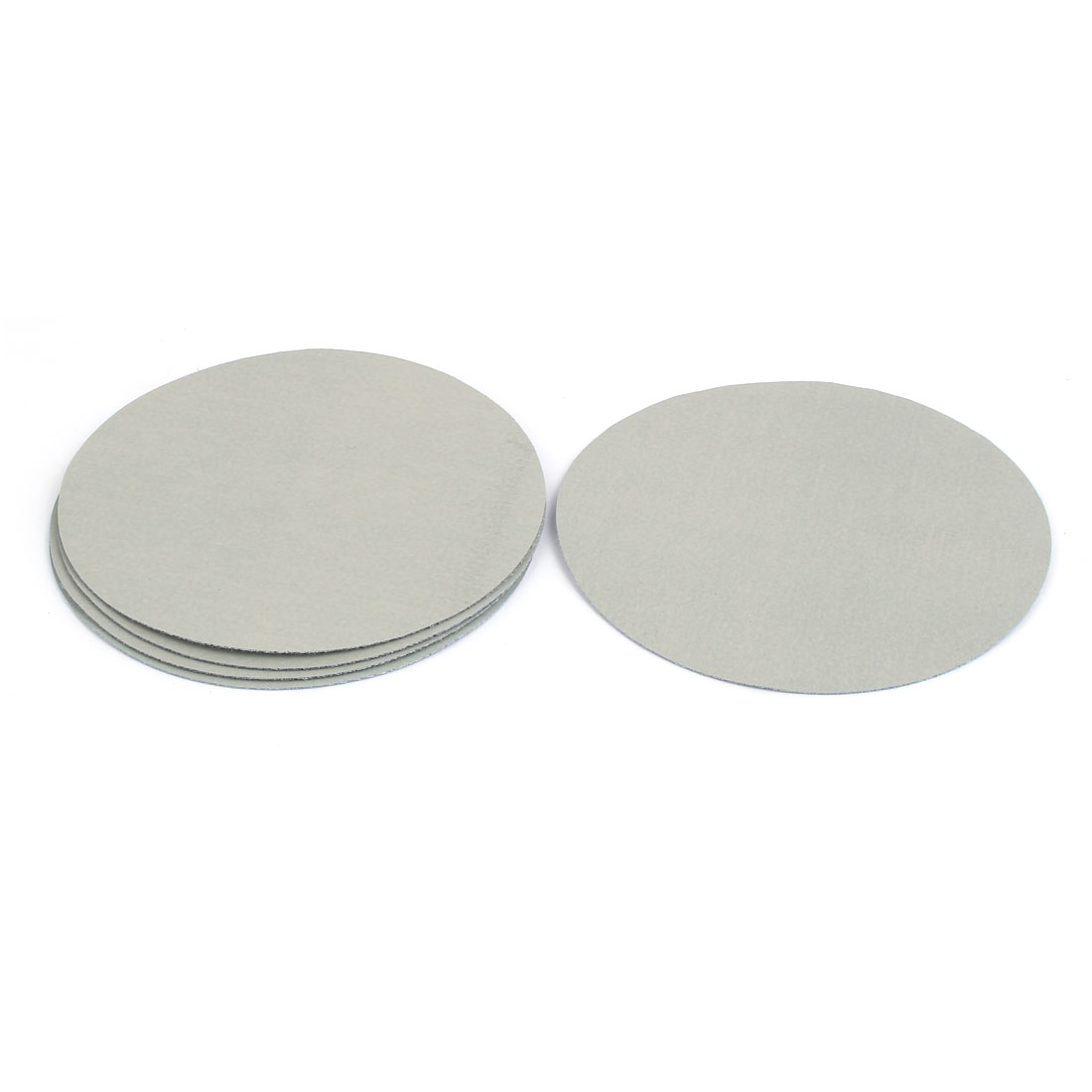 "5000 Grit 5"" Diameter Sandpaper Hook Loop Sanding Disc 5 Pcs"