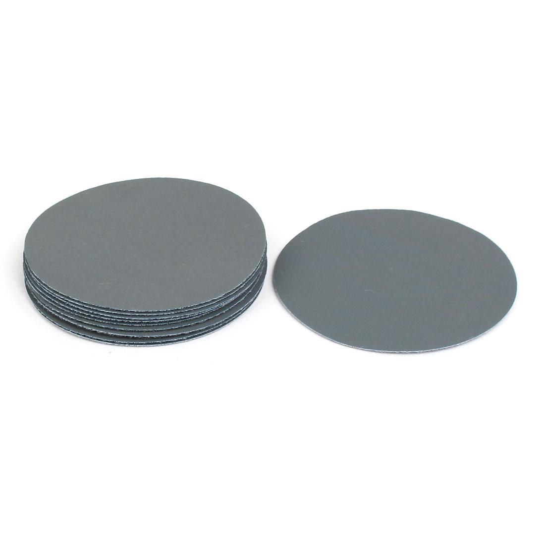 "3000 Grit 3"" Diameter Sandpaper Hook Loop Sanding Disc 10 Pcs"