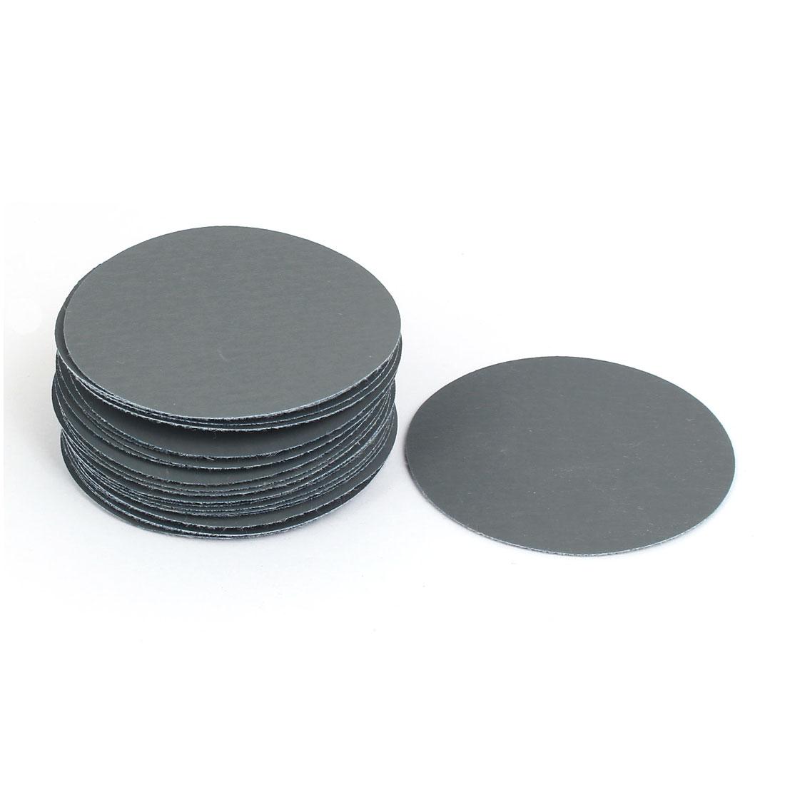 "3000 Grit 3"" Diameter Sandpaper Hook Loop Sanding Disc 30 Pcs"