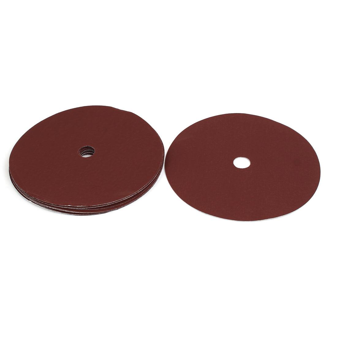 """1500 Grit 1 Hole 7"""" Diameter Sandpaper Hook Loop Sanding Disc 10 Pcs"""