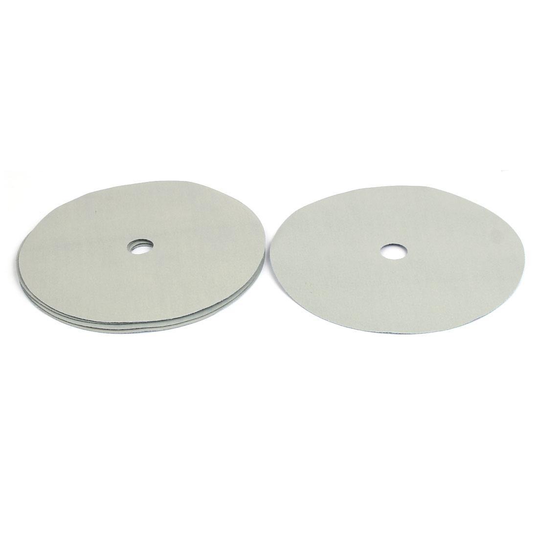 """5000 Grit 1 Hole 7"""" Diameter Sandpaper Hook Loop Sanding Disc 5 Pcs"""