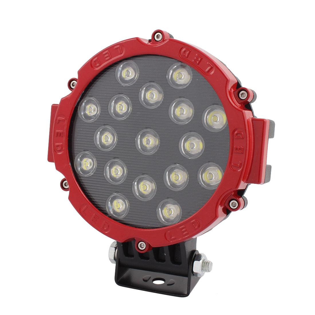 51W DC 9V-30V 17 LED Bulb Spotlight Working Lamp for Truck Car Hall Lighting