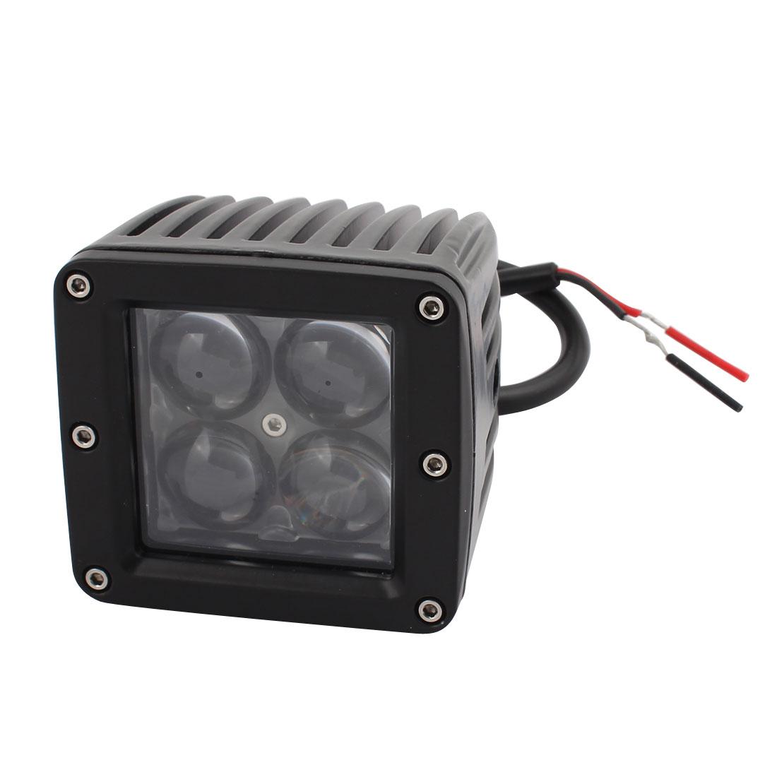 12W-B 12W DC 10V-30V 4 LED Bulb Spotlight Working Lamp for Room Lighting
