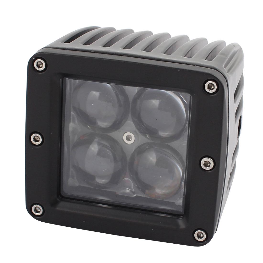 20W DC 10V-30V 4 LED Bulb Spotlight Working Lamp for Hall Lighting