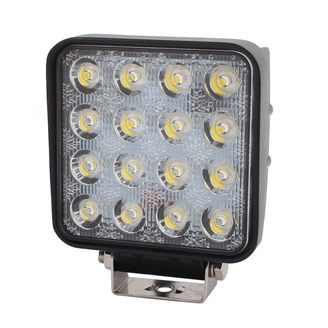 48W-A 48W DC 10V-30V 16 LED Bulb Spotlight Working Lamp for Truck Car