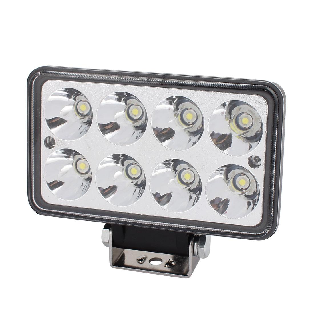 24W DC 10V-30V 8 LED Bulb Spotlight Working Lamp for Hotel Hall Lighting
