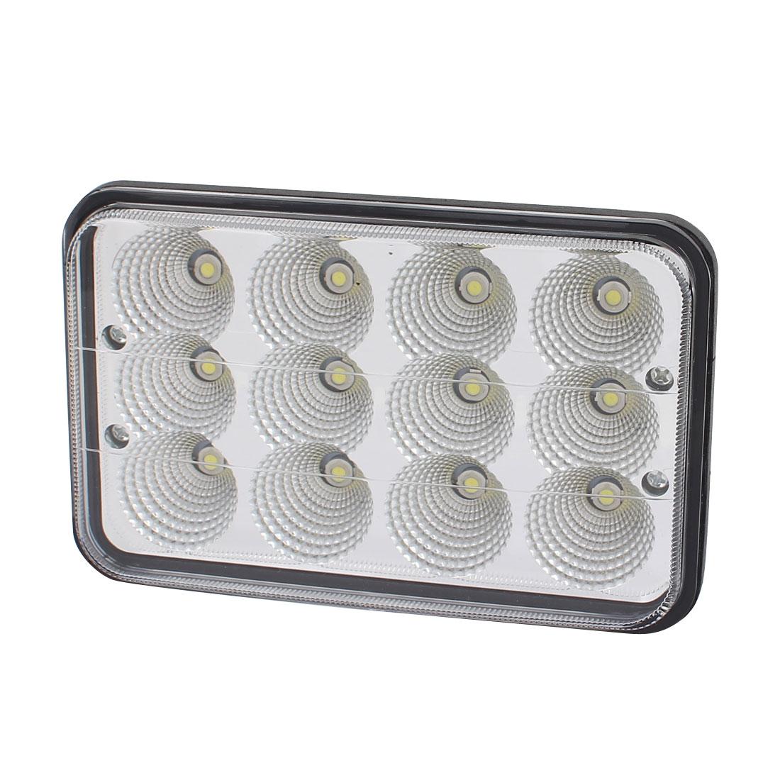 36W DC 10V-30V 12 LED Bulb Spotlight Working Lamp for Truck Car Lighting
