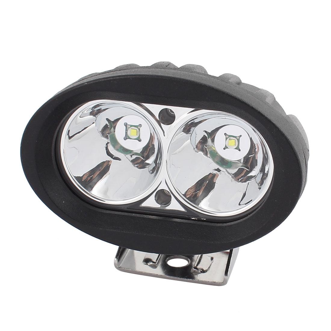 20W DC 10V-30V 2 LED Bulb Spotlight Working Lamp for Truck Car Hall Lighting