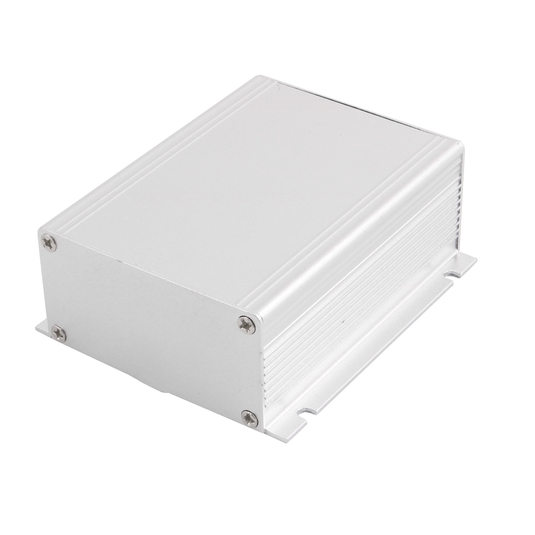 88mmx103mmx38mm Multi-purpose Electronic Extruded Aluminum Enclosure Box Silver