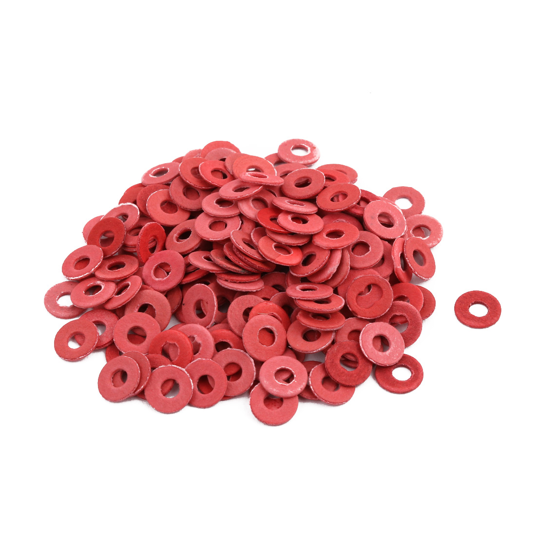 M3 x 8mm x 1mm Nylon Flat Insulating Washers Gaskets Spacers Fastener 190PCS