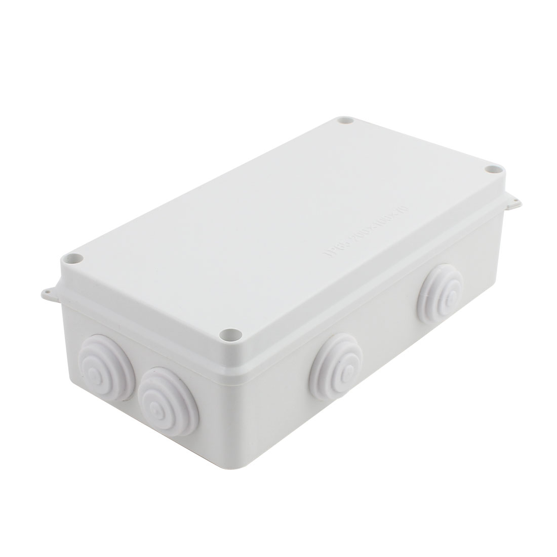 Gray ABS Enclosure Electronic Terminal Junction Box 200x100x70mm