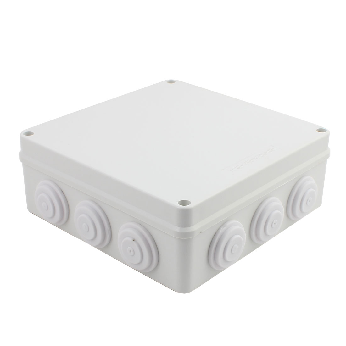Gray ABS Enclosure Electronic Terminal Junction Box 200x200x80mm