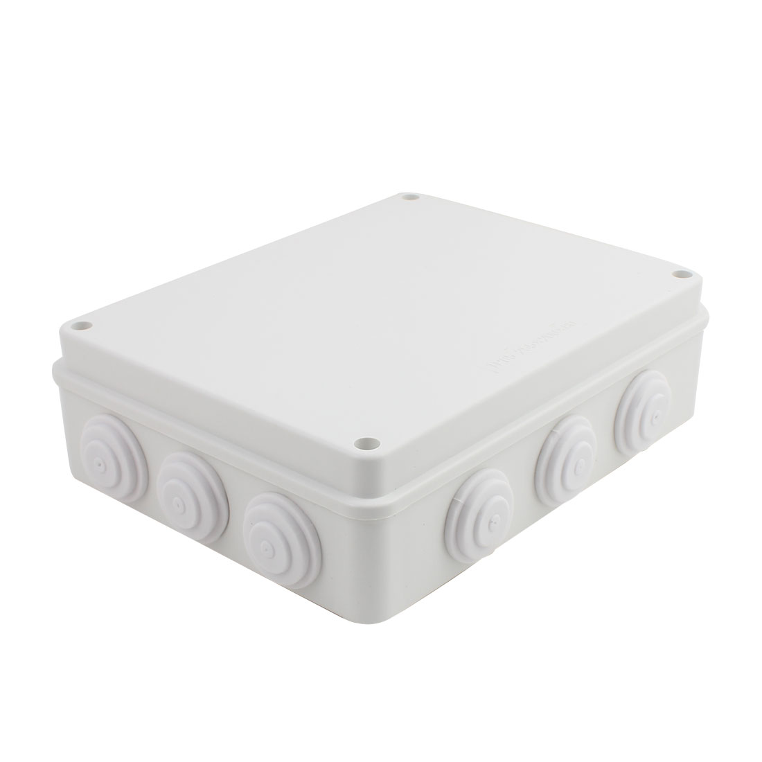 Gray ABS Enclosure Electronic Terminal Junction Box 255x200x80mm
