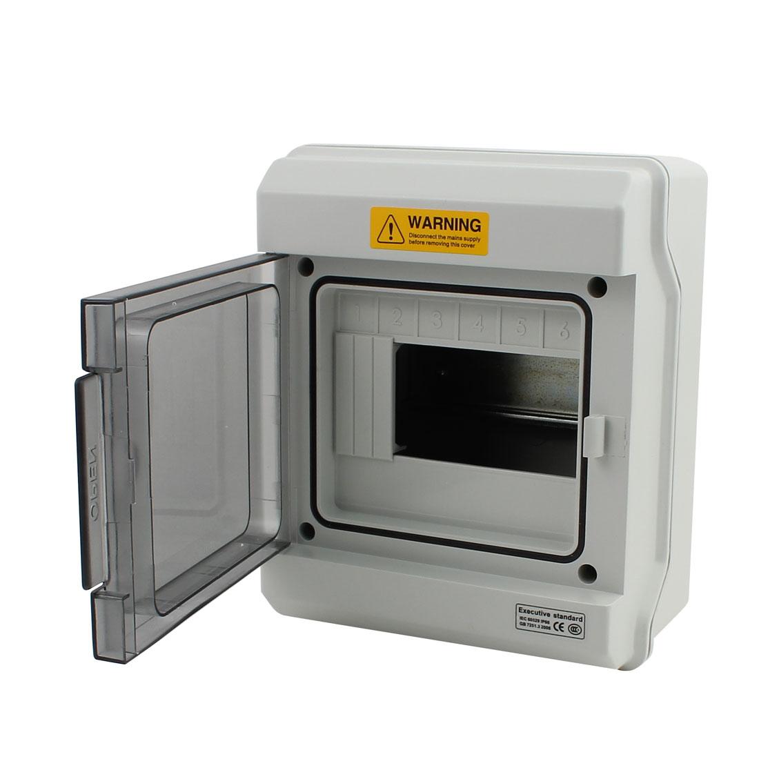 GDB-06 IP66 200mm x 165mm x 100mm Elite Waterproof Distribution Box