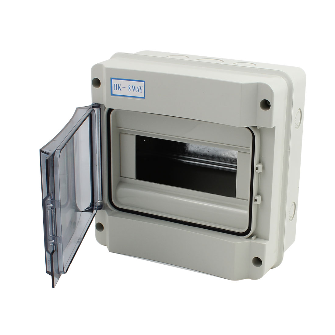 185x185x105mm Waterproof 8 Ways Distribution Box Switch Cover for Circuit Breaker