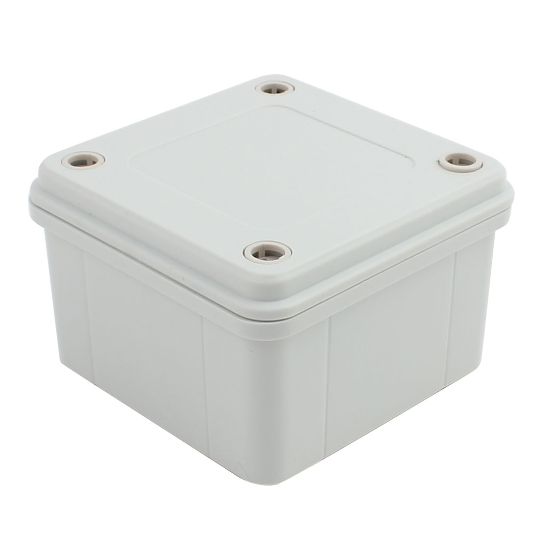 96mm x 96mm x 60mm ABS Enclosure DIY Junction Box Case Gray