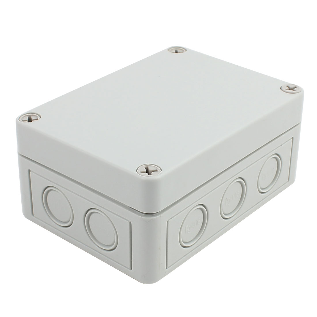 130mm x 93mm x 57mm ABS Enclosure DIY Junction Box Case Gray