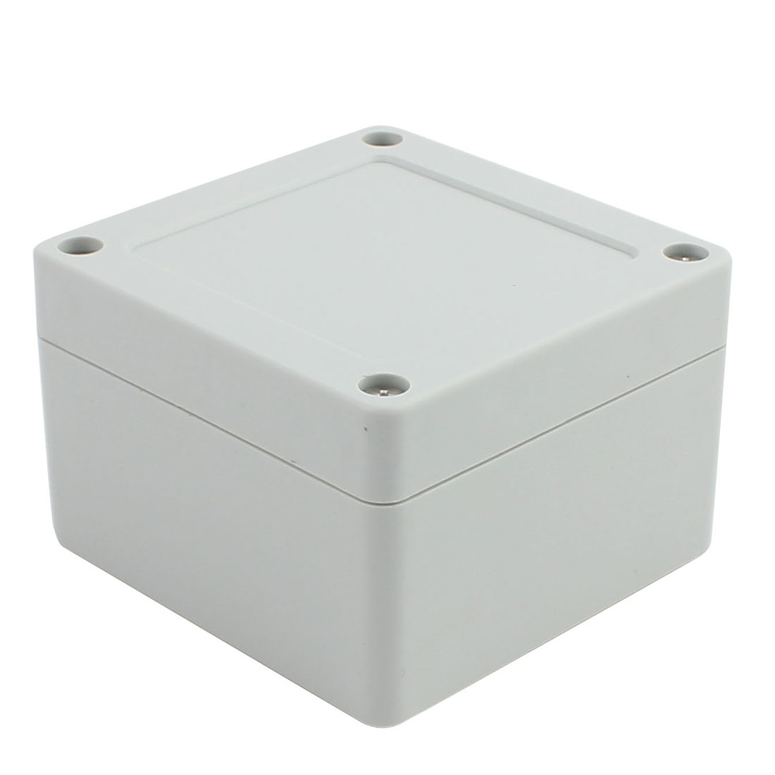 84mm x 82mm x 56mm ABS Enclosure DIY Junction Box Case Gray