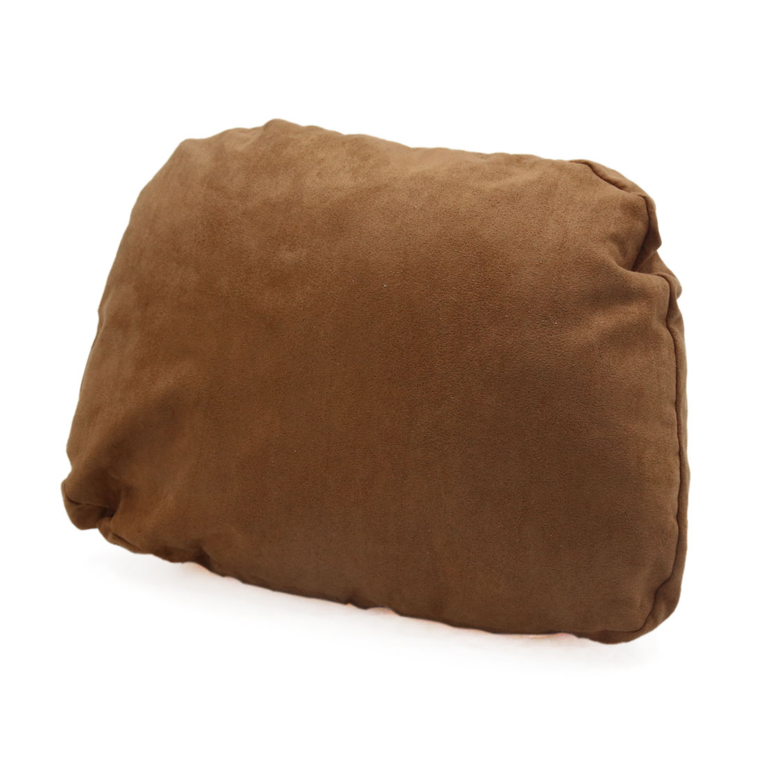 Brown Memory Foam Padding Auto Car Seat Headrest Pillow Neck Rest Cushion Pad