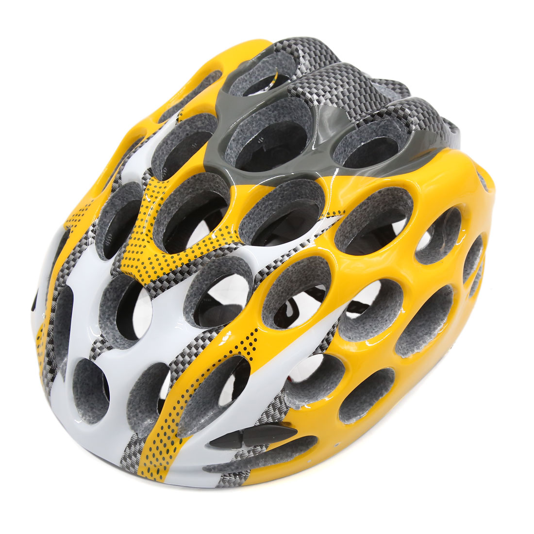 Honeycomb Shape 41 Holes Adjustable Outdoor MTB Cycling Bicycle Helmet Yellow