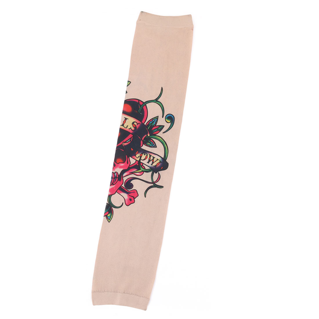 Outdoor Nylon Flower Print Personalized Fishing Arm Protector Sleeve Sleevelet