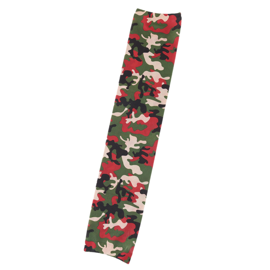 Home Garden Camouflage Print Cleaning Arm Protector Sun Protection Sleeve Cover Green