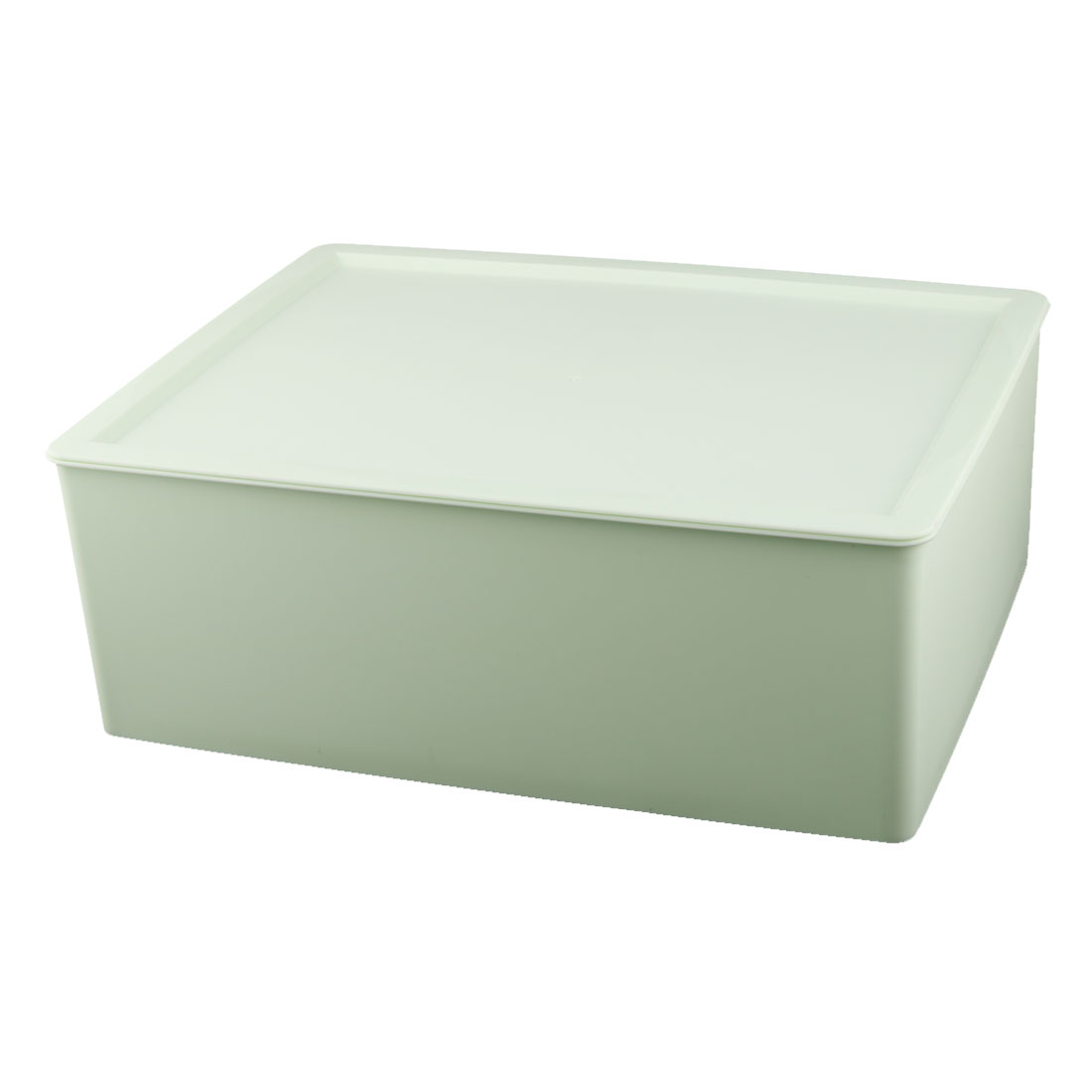 Family Dresser Plastic Trinket Cosmetic Underwear Holder Desk Storage Box Pale Green