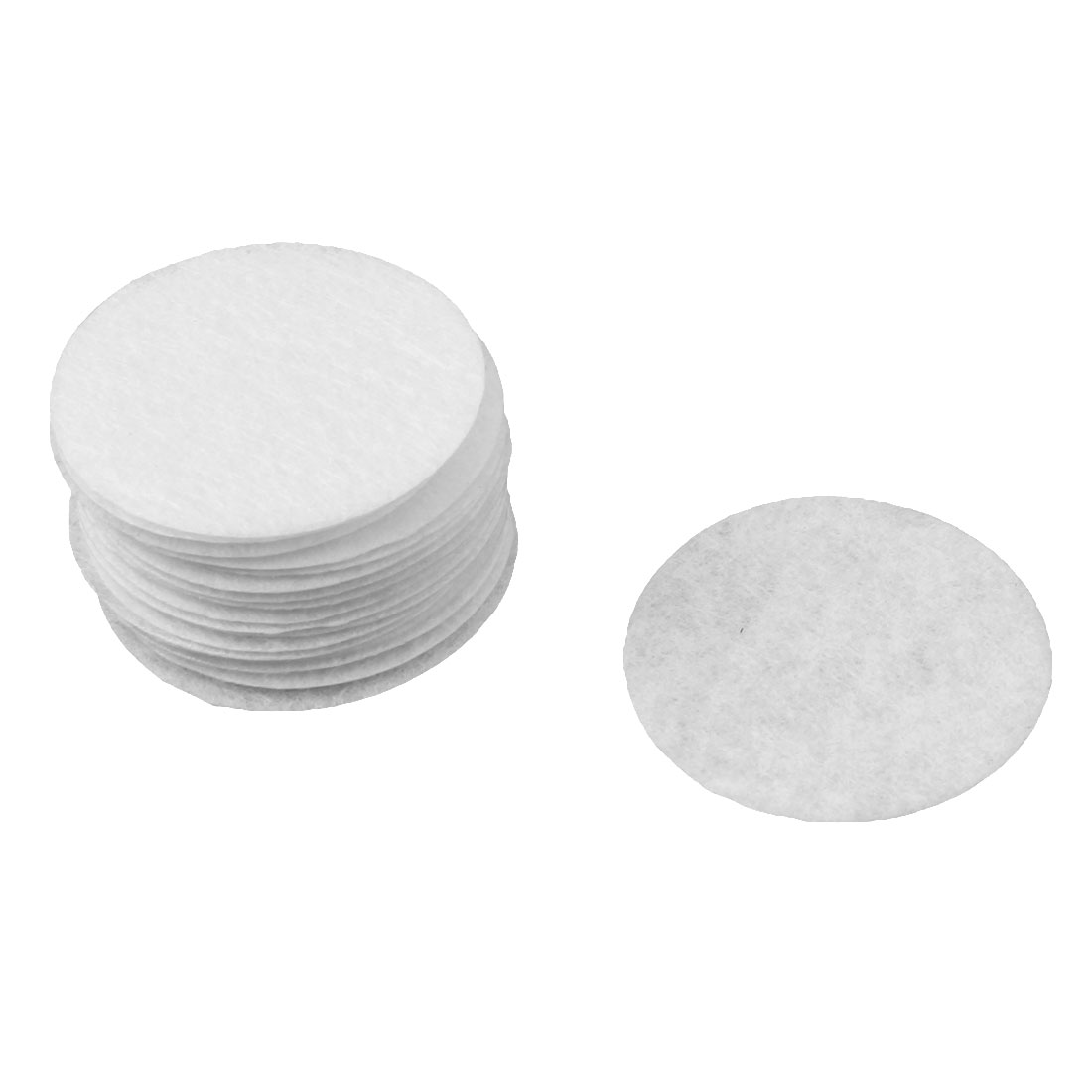 DIY Headwear Round Shaped Hair Band Accessories Circle Pad White 40mm Dia 20pcs