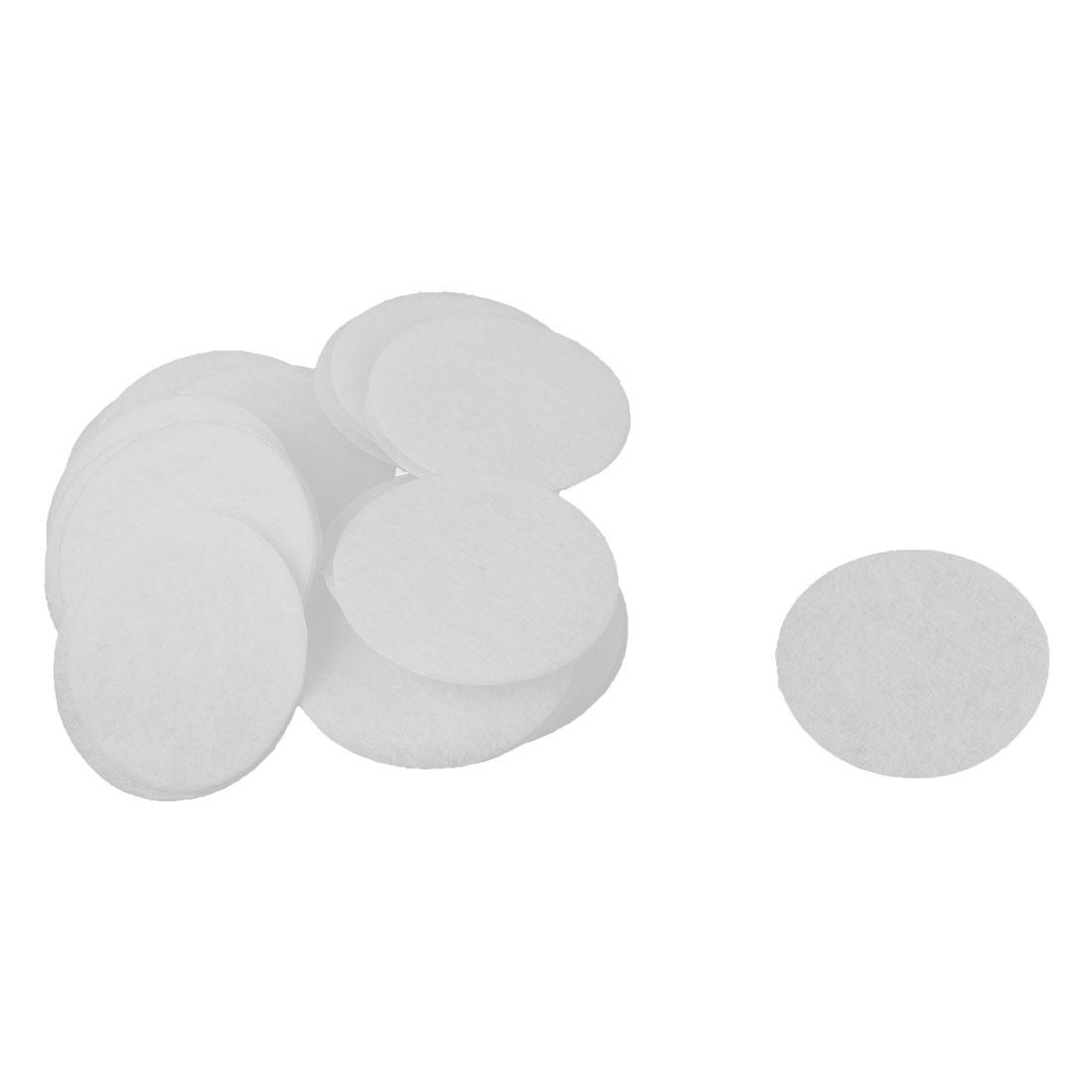 DIY Craft Accessories Hair Band Hairband Circle Pad White 40mm Diameter 40pcs