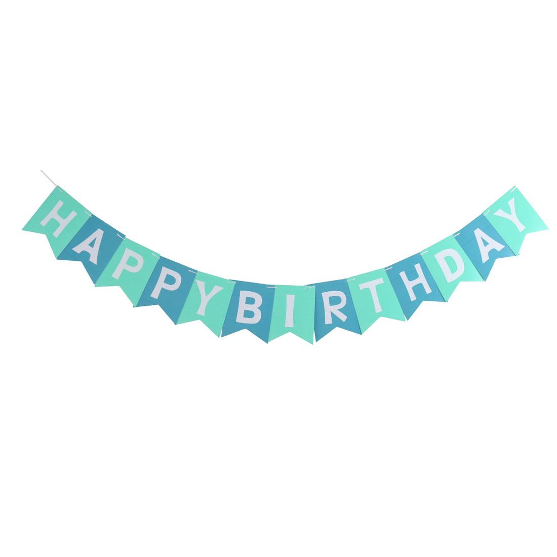 Paper HAPPY BIRTHDAY Letter Print DIY Craft Party Hanger Decor Photo Prop Banner
