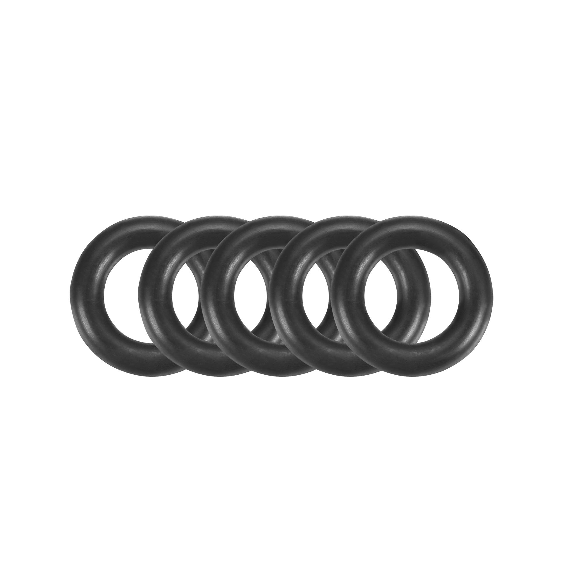 50Pcs Black 9 x 2mm Industrial Flexible Rubber O Ring Oil Sealing Grommets