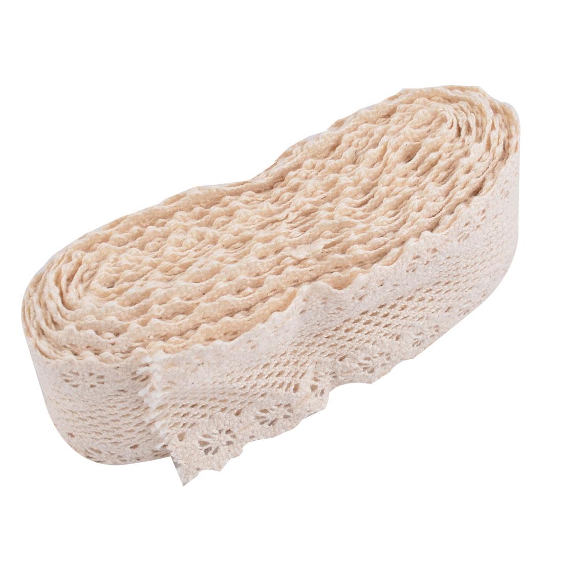 Party Cotton Blends DIY Craft Neckline Decor Lace Trim Applique 1.6 Inches Width