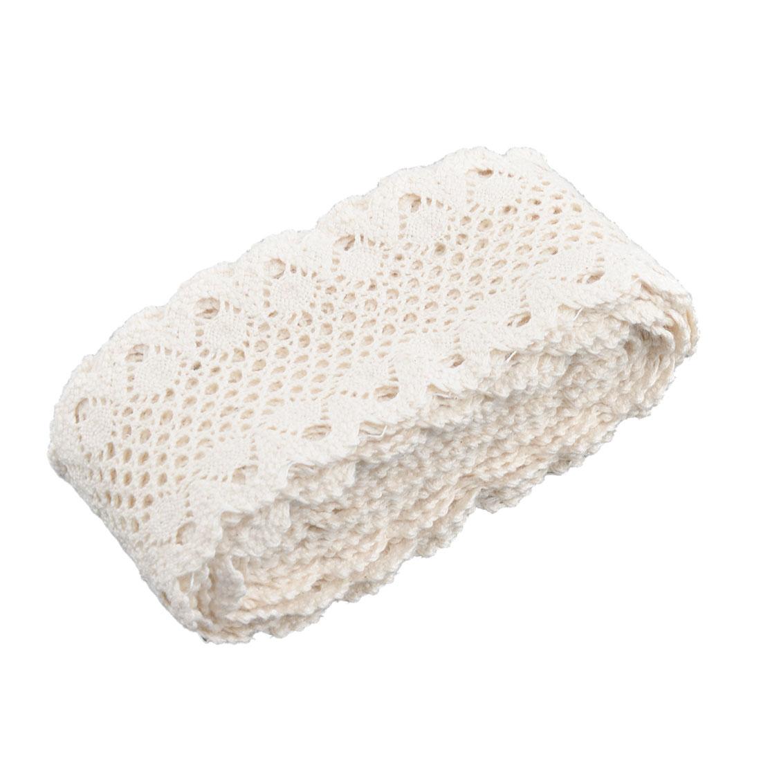 Party Cotton Blends DIY Clothing Pants Dress Lace Trim Applique 2.2 Inches Width