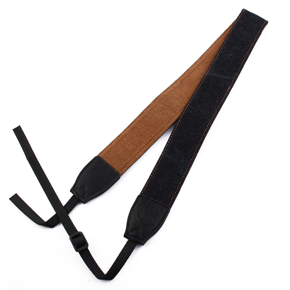 SHETU Authorized Universal Denim Camera Shoulder Neck Belt Strap Black for DSLR