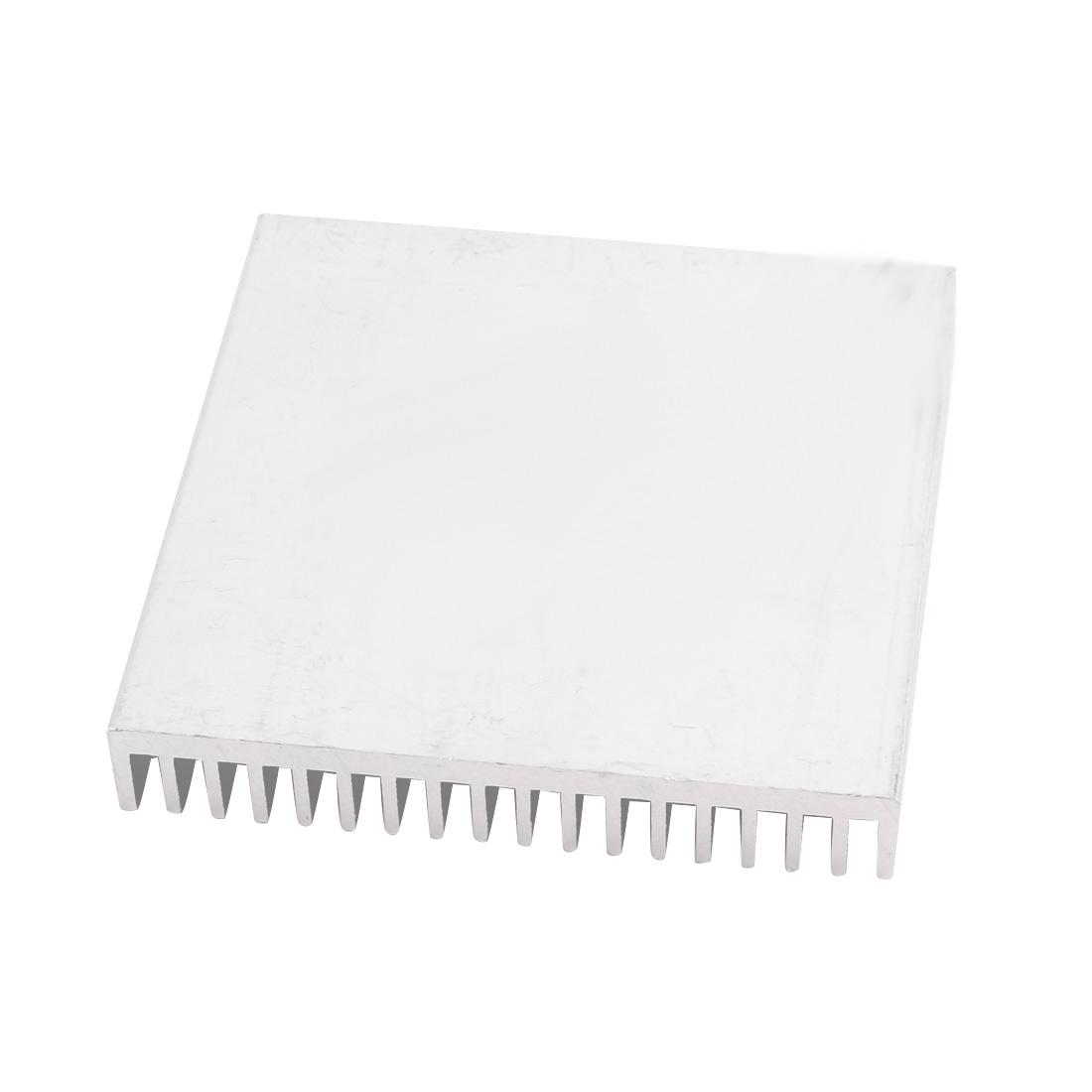 70mmx70mmx11mm Aluminum Heatsink Heat Diffuse Cooling Fin