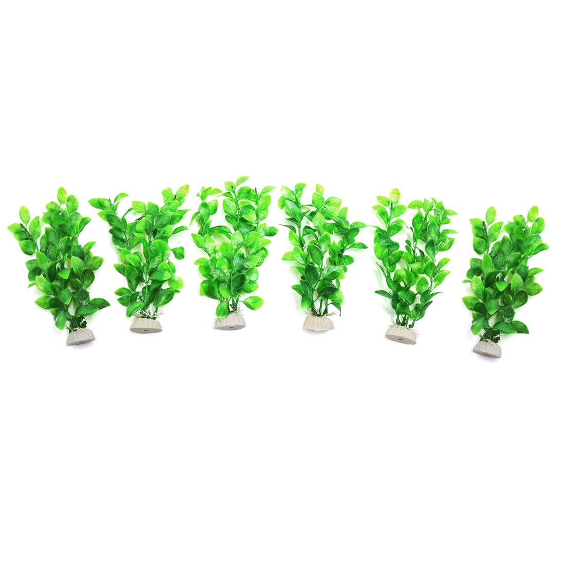 6pcs Purple Aquarium Plants Fish Tank Water Plant Decorative Ornament