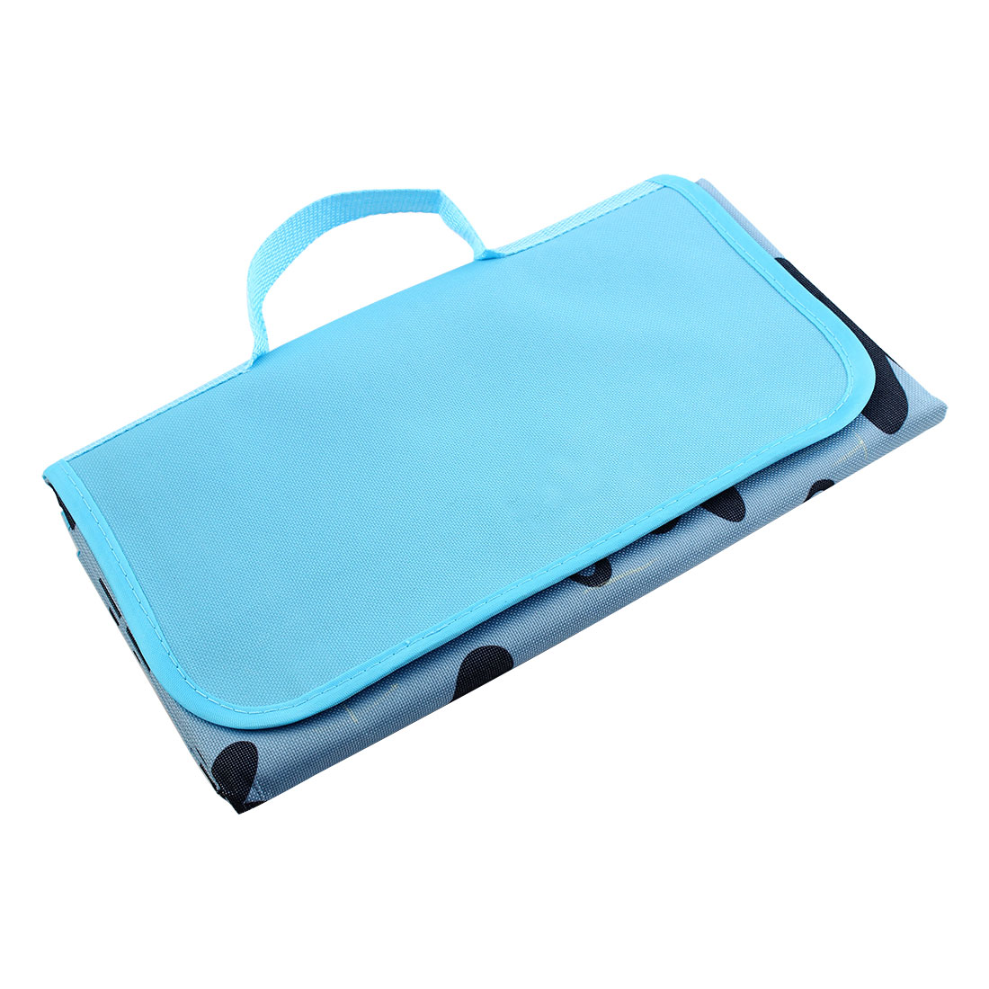 Travel Outdoor Water Resistant Pad Foldable Picnic Blanket Portable Camping Mat Blue