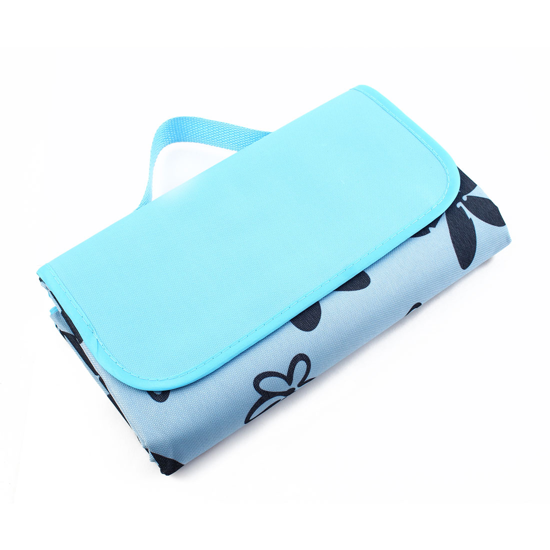 Beach Outdoor Water Resistant Pad Foldable Picnic Blanket Portable Camping Mat Blue