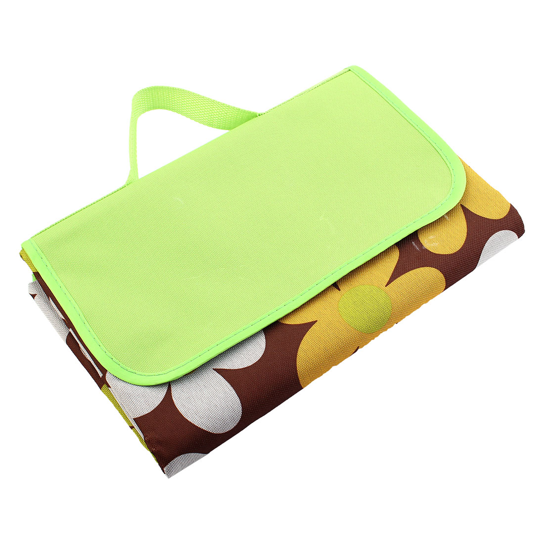 Beach Floral Print Water Resistant Pad Foldable Picnic Blanket Portable Camping Mat