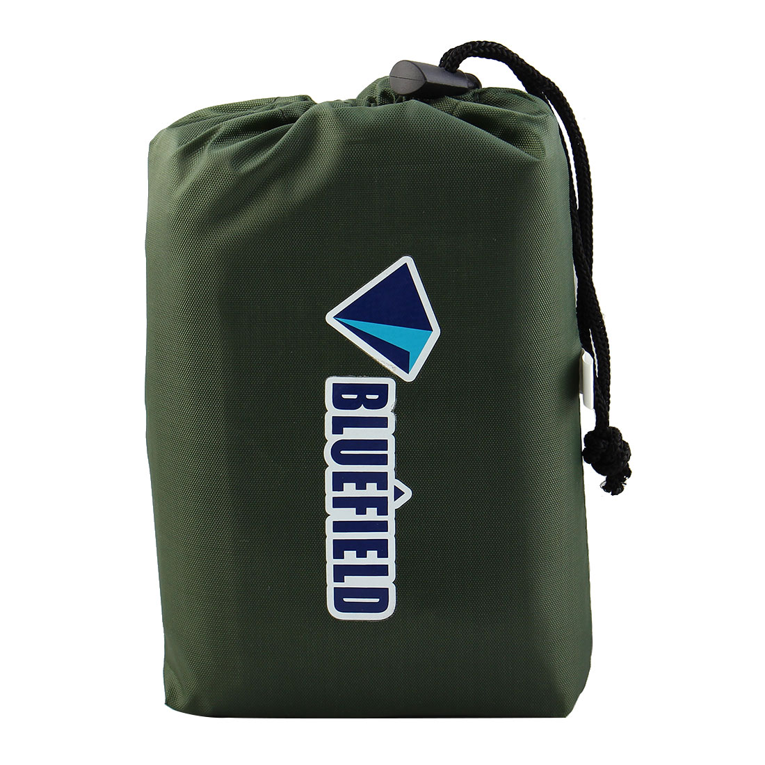 Bluefield Authorized Hiking Outdoor Water Resistant Picnic Blanket Foldable Camping Mat Pad Dark Green