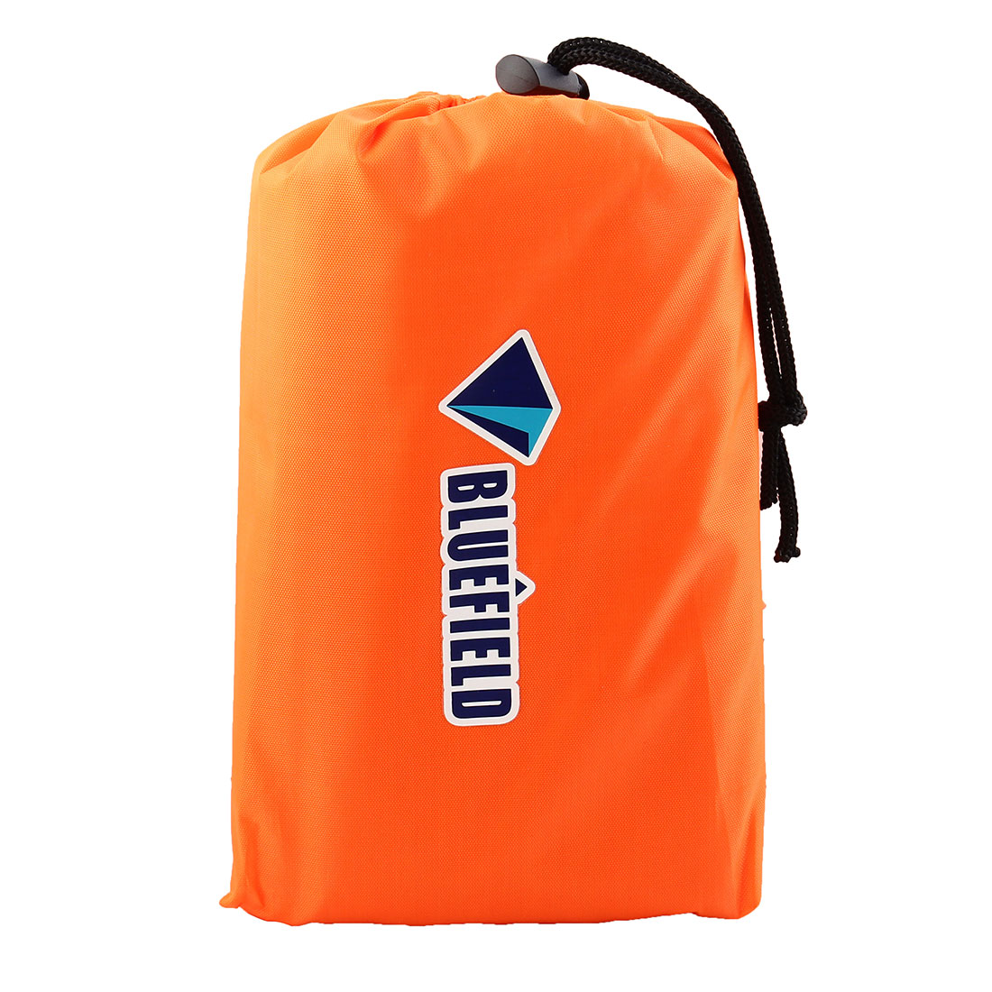 Bluefield Authorized Hiking Outdoor Water Resistant Picnic Blanket Foldable Camping Mat Pad Orange