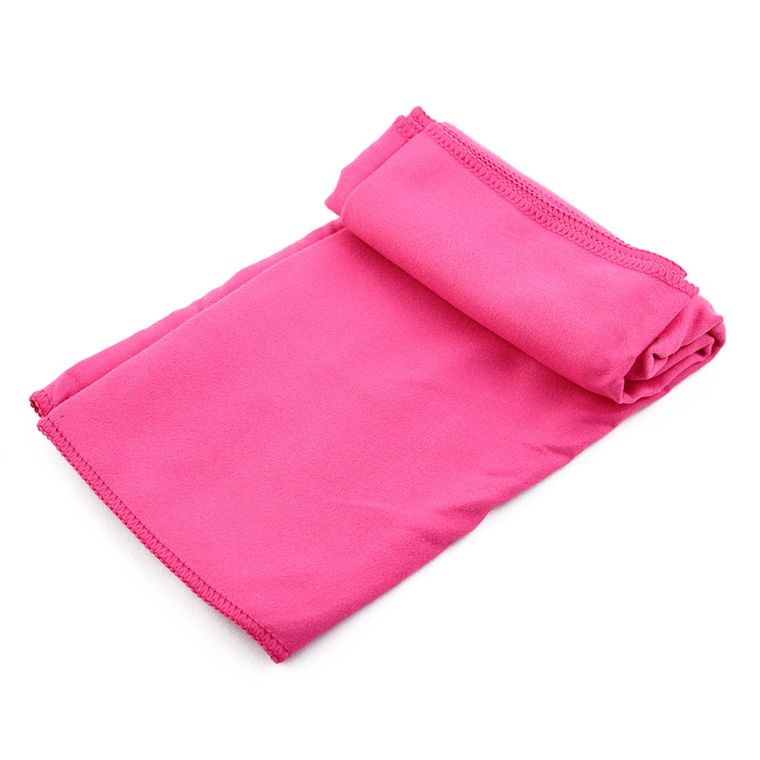 Bluefield Authorized Outdoor Travel Microfiber Quick Drying Sports Towel Workout Exercise Facecloth Fuchsia 70 x 30cm