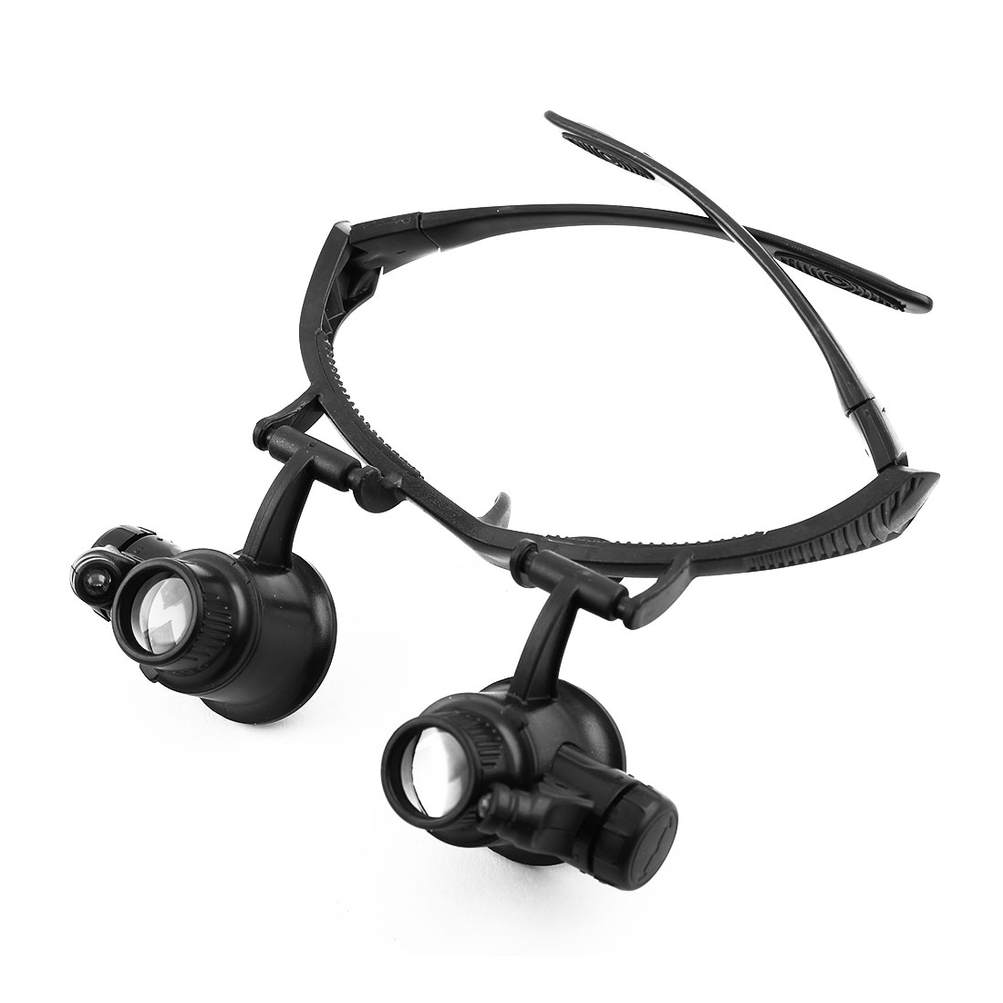 Patent Authorized Jewelry Watch Repair LED Lighted Headwear 10X 15X 20X 25X Loupe Magnifier Magnifying