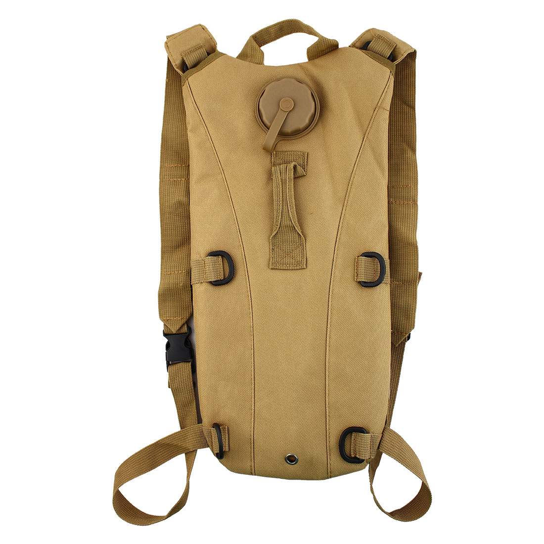 Outdoor Bicycle Bike Traveling Hiking Camping Cycling Hydration Pack Backpack Dark Khaki w 3L Water Bladder Bag