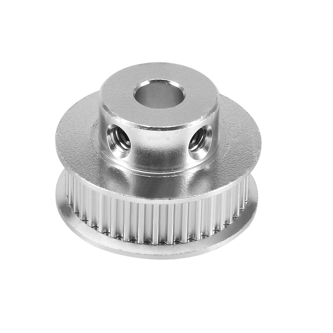 3D Printer Aluminum GT2 40 Teeth 5mm Bore Timing Pulley Flange Synchronous Wheel for 6mm Timing Belt