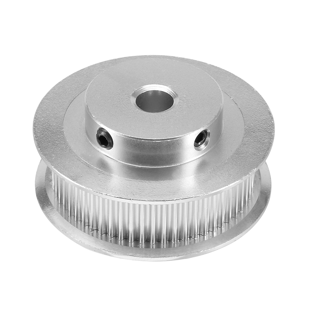 Aluminum GT2 60 Teeth 8mm Bore Timing Belt Pulley Flange Synchronous Wheel for 3D Printer