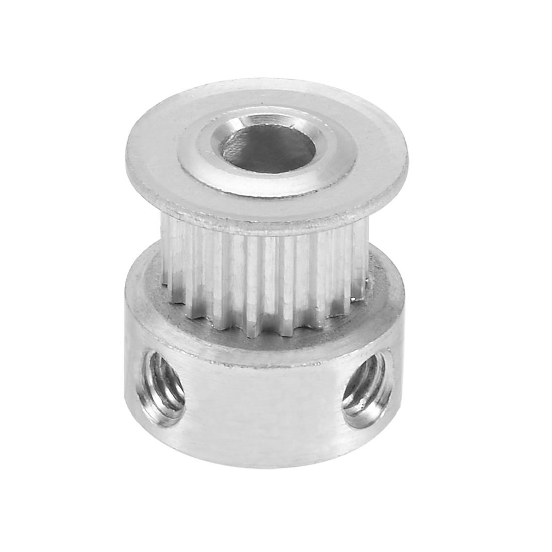 Aluminum GT2 18 Teeth Bore 5mm Timing Belt Pulley Flange Synchronous Wheel for 3D Printer