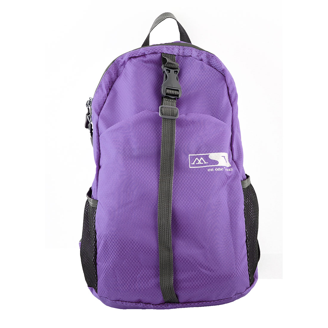 Lightweight Foldable Pack Hiking Camping Daypack Water Resistant Travel Backpack Sport Bag Purple 20L